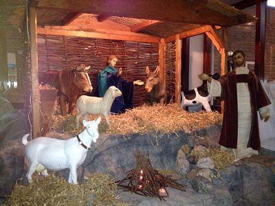 'Gastvrijheid' thema kerststal in Hoek van Holland