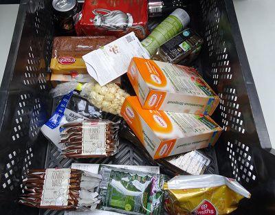 De weg van de voedselmand naar de Voedselbank